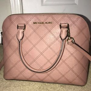 Michael Kors Cindy Stitch Satchel